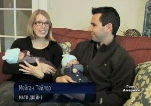 Ученые объясняют, почему в США растет число двойняшек