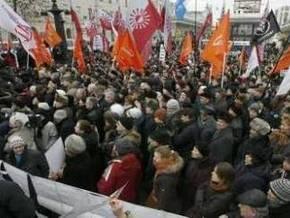 Российская оппозиция использует майдановскую символику