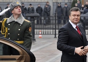 Янукович призвал закрепить в предложенном Медведевым договоре гарантии безопасности Украины