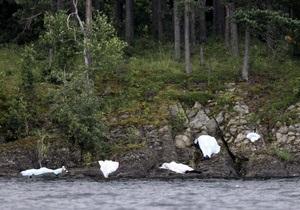 Поиски жертв теракта на острове Утойя прекращены