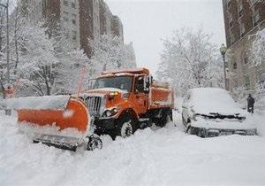 Снежный Армагеддон в США: Штат Вирджиния объявлен зоной ЧП