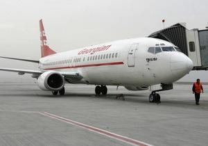 Россия разрешила полеты грузинских чартеров