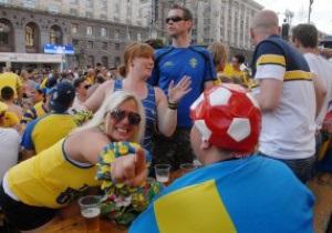 Сегодня в киевской фан-зоне ожидают около 120 тысяч болельщиков