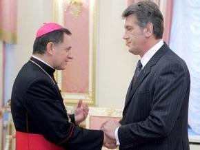 Папа Римский пригласил Ющенко в Ватикан