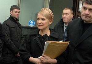 Тимошенко отозвала из суда иск по результатам выборов президента (обновлено)