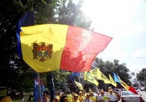 В Кишиневе прошел марш за объединение Молдовы с Румынией
