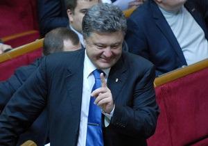 Порошенко назвал высокими свои шансы на победу на выборах мэра Киева