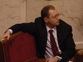 Яценюк создаст партию на основе Фронта перемен