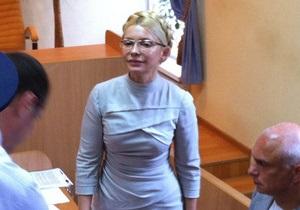 В начале заседания суда Тимошенко выкрикнула Слава Украине!
