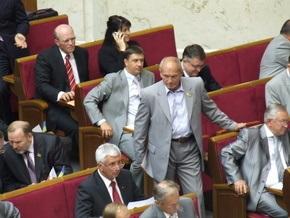 В НУ-НС коалицию трех поддержали 37 депутатов