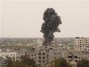 ВВС Израиля бомбили сектор Газа