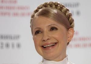 Тимошенко уверенно побеждает в столице Украины