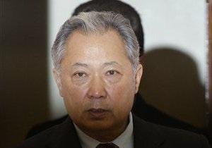 Кыргызстан попросил Интерпол найти Бакиева