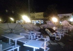 Ураган в Одессе - новости Одессы: число пострадавших возросло до пяти, некоторые в тяжелом состоянии
