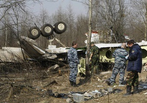 Российских омоновцев подозревают в краже кредиток с места крушения польского Ту-154