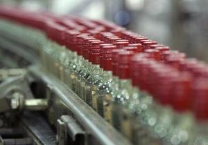 Производство водки в Украине за полгода упало на треть