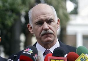 Премьер оказавшейся перед лицом дефолта Греции начал цитировать Гомера