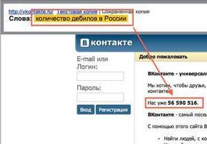 Яндекс: В январе украинцы интересовались выборами и  количеством дебилов в России
