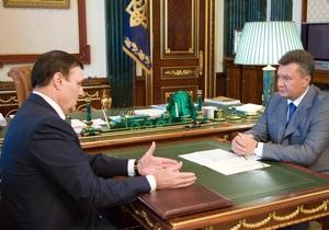 Глава Укравтодора доложил Януковичу о строительстве новых дорог