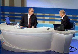 Time: Прямая линия с Путиным была заранее отрепетирована