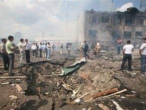 Теракт в Назрани: под завалами отделения милиции могут находиться десятки людей