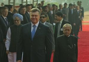 Индия предлагает Украине либерализацию визового режима