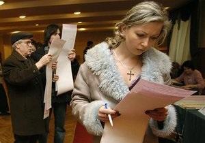 В российском Центризбиркоме считают, что Украине не избежать второго тура выборов