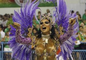 Фотогалерея: Бразильский карнавал-2010