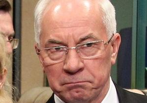 МИД объяснил, почему руководство ЕС отказалось встречаться с Азаровым
