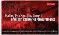 Руководство по проведению прецизионных измерений малых токов и больших сопротивлений  компании Keithley теперь доступно в электронном виде.