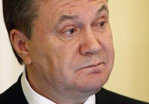 Янукович заявил, что намерен усилить политический диалог с Израилем