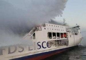 Пожар на пароме в Балтийском море тушили более 30 часов