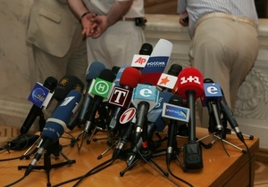 Эксперты констатируют резкое увеличение случаев нарушения прав журналистов в Украине