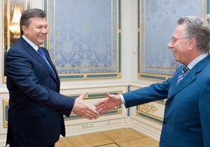 Янукович пообещал отправить проект закона о выборах на экспертизу в Европу