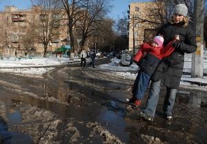 Черновецкий выделил более 4 млн гривен на противопаводковые мероприятия в столице