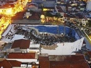 При обрушении потолка в церкви в Сан-Паулу погибли семь человек