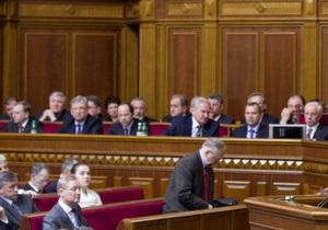 Литвин пообещал, что по пятницам в Раду будут приходить все министры