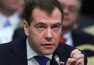 Медведев: Милиция действовала профессионально во время провокаций в Москве
