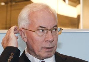 Азаров поручил Ярошенко за выходные подготовить предложения по Налоговому кодексу