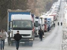 Польские водители заблокировали пропускной пункт на границе с Украиной