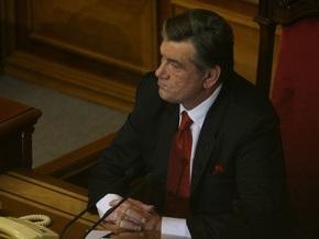 Ющенко попросил Раду еще раз попробовать изменить закон о выборах