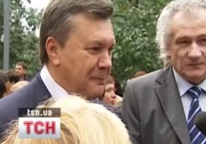 Янукович в школе больше всего любил физкультуру