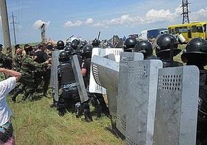 По факту столкновения милиции с русскими казаками в Крыму возбудили уголовное дело