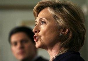 Хиллари Клинтон прибыла с необъявленным визитом в Пакистан