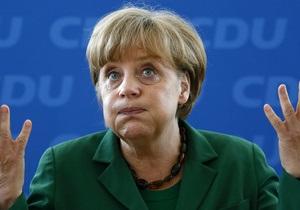 Меркель не приедет в Украину на матчи группового турнира Евро