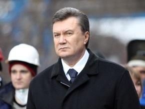 Янукович считает неправильным празднование юбилея оранжевой революции