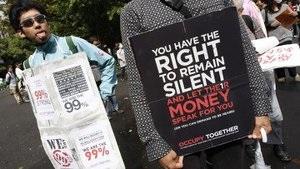 В Южной Корее и Индонезии поддержали акцию Заxвати Wall Street