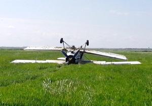 новости Крыма - самолет - В Крыму самолет Ан-2 совершил аварийную посадку и перевернулся