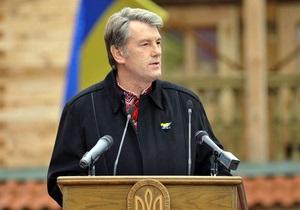 Ющенко: В 2009 году Украина заключила военных контрактов на полтора миллиарда долларов
