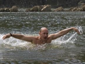 Фотогалерея: Экстремальный отпуск Путина